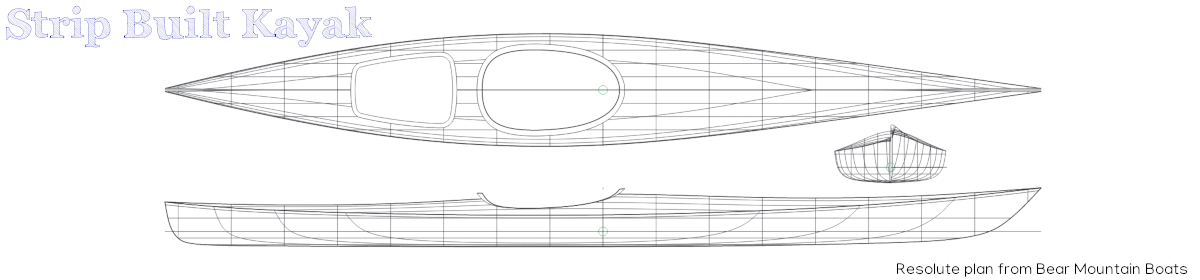 Strip Built Kayak